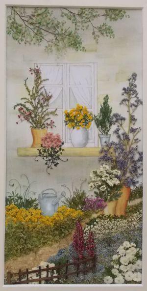 窓辺 - さくら 吹雪の 押し花アトリエ プチ フルール