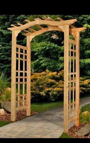 Woodwork Plans For Wooden Arbors Pdf Plans Raised Garden