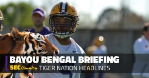 LSU football coach Ed Orgeron announced which player will wear No. 18 for LSU next season, and it