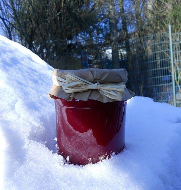 Kreation Nr. 3 ...  Rotes Johannisbeergelee mit Merlot, Lindt Schokolade & Ceylon Zimt Zutaten : 1,3 l roter Johannisbeersaft ...