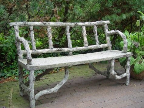17 Best Images About Faux Bois On Pinterest Gardens Table And Chairs And Planters