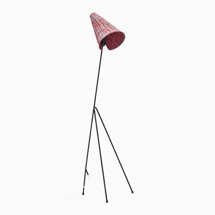 Modell Giraffe Stehlampe von Hans Bergström, 1950er Jetzt bestellen unter: https://moebel.ladendirekt.de/lampen/stehlampen/standleuchten/?uid=87945157-0a45-5323-9128-86a1514a866f&utm_source=pinterest&utm_medium=pin&utm_campaign=boards #stehlampen #leuchten #lampen