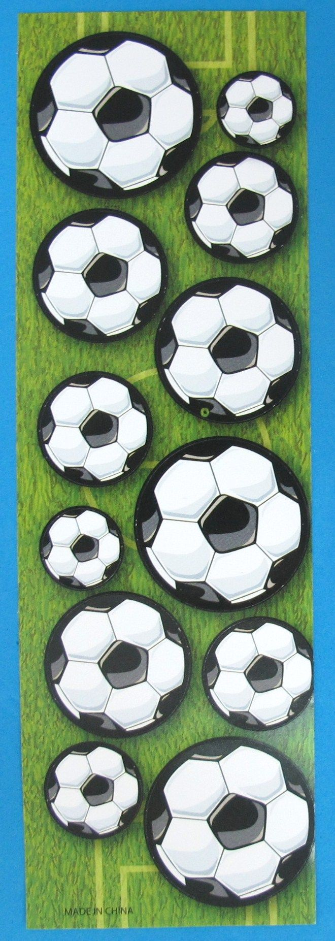 Football stickers are a great way to personalise belongings