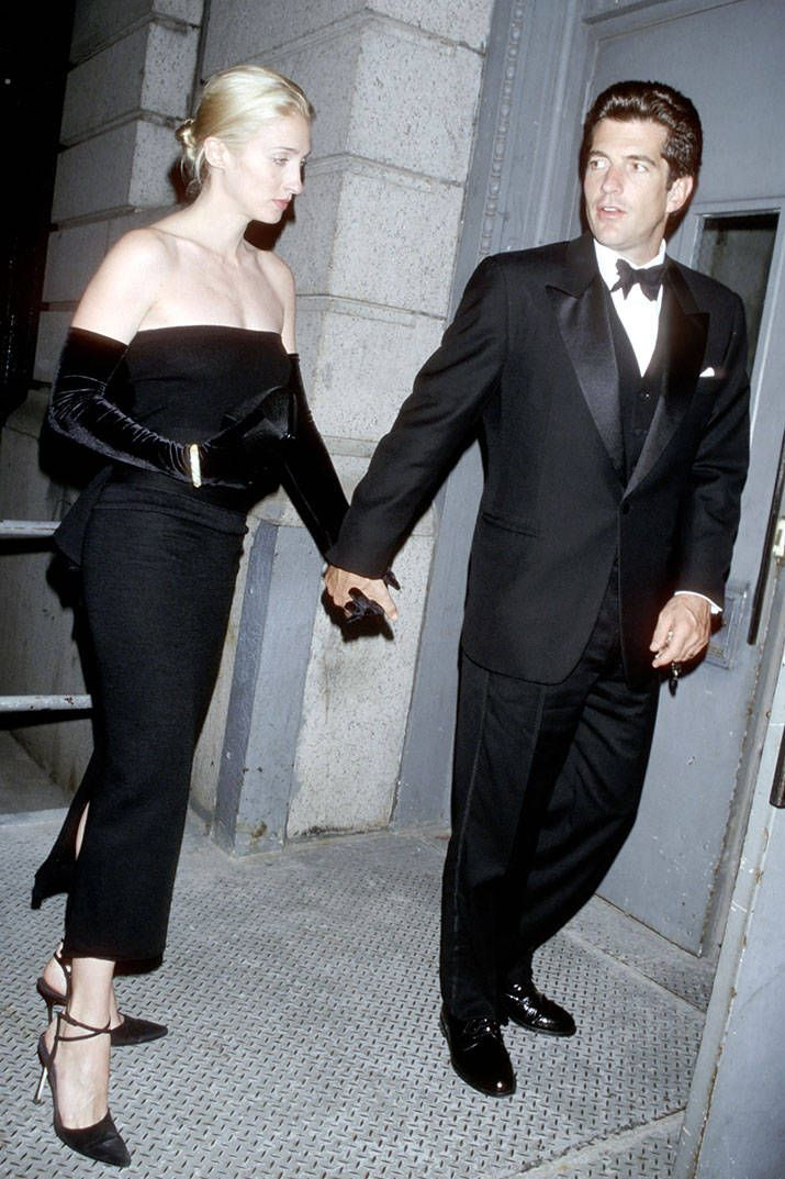 #vintage Carolyn Bessette Kennedy and John F. Kennedy Jr CBK and JFK Jr ~ The rules of a Calvin Klein minimalist via Harper's Bazaar #classic