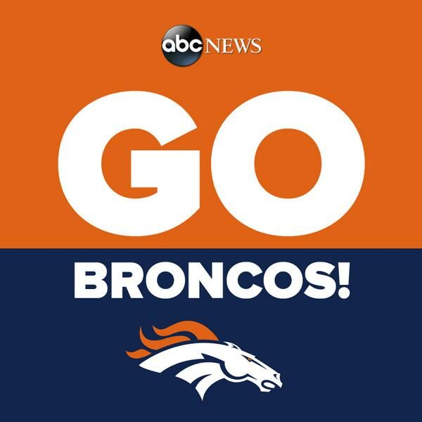 the broncos are not my fav team but i am rooting for them to win in the superbowl!!! so this is pretty much so you can judge me if they lose or joke with me about the commercials or celebrate if they win etc ;)
