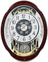 Rhythm clocks - on the hour, the entire face splits into six pieces and circulates.  Oh yeah ...