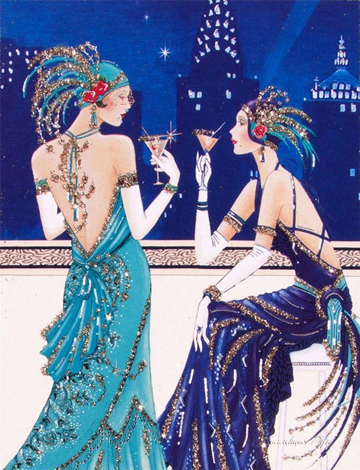 Art Deco Lady - 3. Обсуждение на LiveInternet - Российский Сервис…