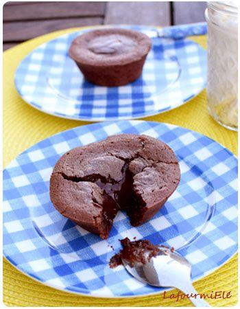 fondants au chocolat fait maison, si facile et si bon !! #chocolat #valrhona #faitmaison