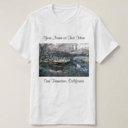 San Francisco Botanical Gardens #2 T-shirt - #customizable create your own personalize diy
