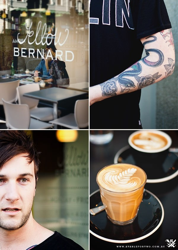 Yellow Bernard, cafe 109 Collins Street, Hobart, TAS 7000 P: (03) 6231 5207 Opening Hours: Mon - Fri 7am - 4pm