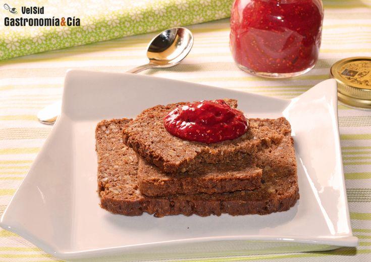 Mermelada De Frambuesa Y Chía (sin Cocción, Sin Azúcar, Sin Gelatina) | Gastronomía & Cía