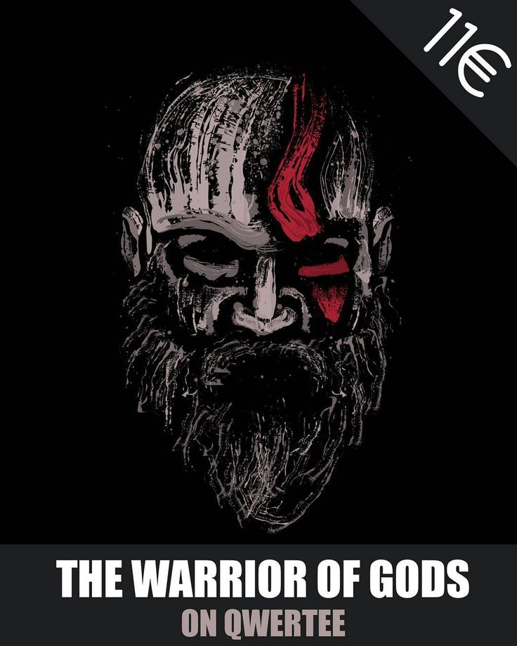 """HEY GUYS!! Only today my design """"The warrior of gods"""" is on Qwertee. 11 only for 24h.  You can buy here: https://www.qwertee.com/  I hope you like it!! #godofwar #sony #ps4 #playstation #qwertee #splatter #beard #artoftheday #ink #tshirt #tee #offer #tees #sale #game #gamer #splatter #digitalart #art #instaoftheday #ff"""