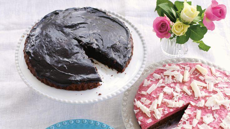 Glutenfri sjokoladekake med baileyskrem