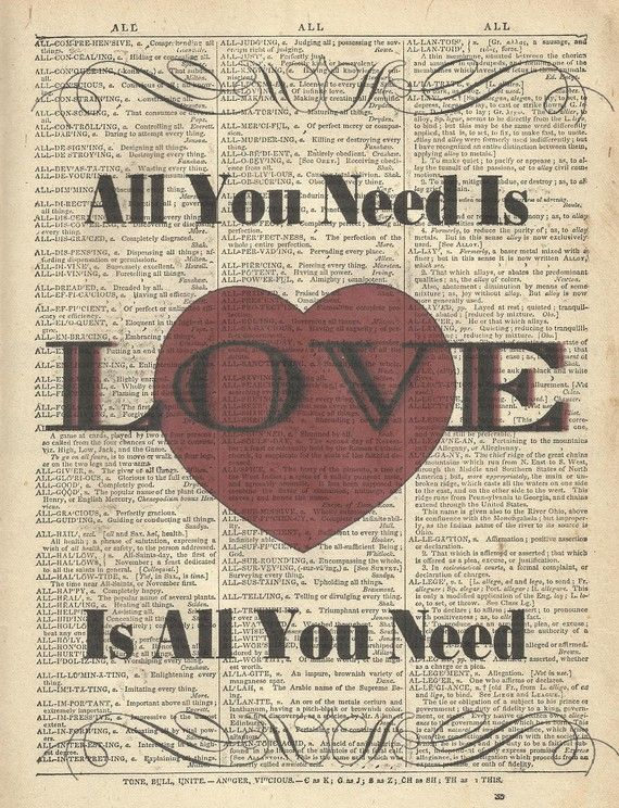 Song Lyric Art Print  The Beatles Song I Will by TexasGirlDesigns, $10.00