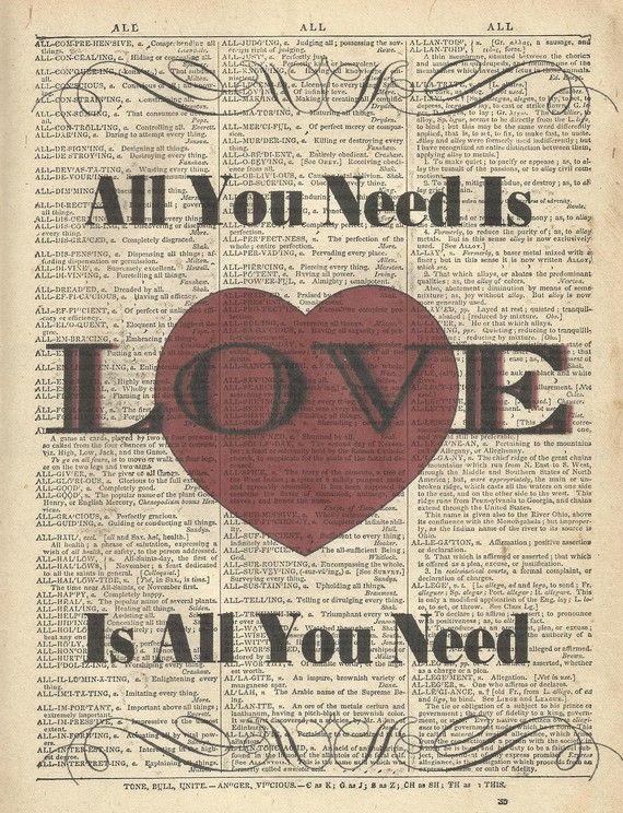 Song Lyric Art Print  The Beatles Song I Will by TexasGirlDesigns, $10.00