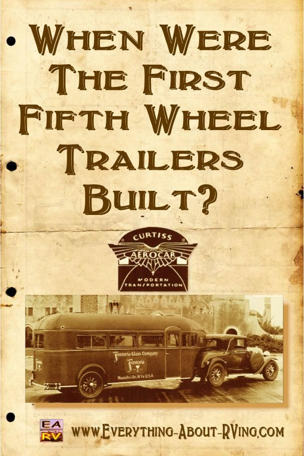 Here is our answer to: When Were The First Fifth Wheel Trailers Built?  The first commercially built 5th Wheel Travel Trailers were licensed in... Read More: http://www.everything-about-rving.com/when-were-the-first-fifth-wheel-trailers-built.html Happy RVing!  #rving #rv #camping #leisure #outdoors #rver #motorhome #travel