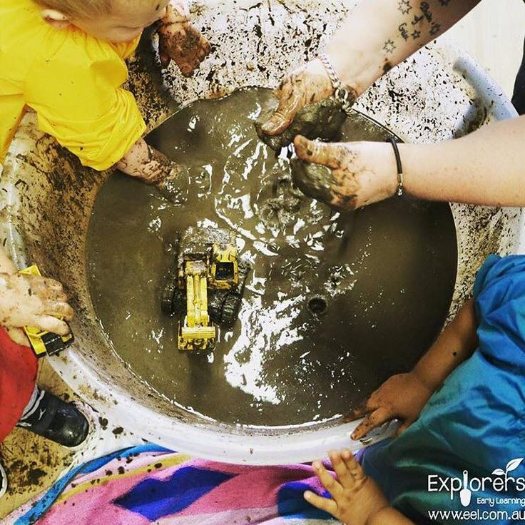 Explorers Early Learning celebrated International Mud day on the 29th of June!