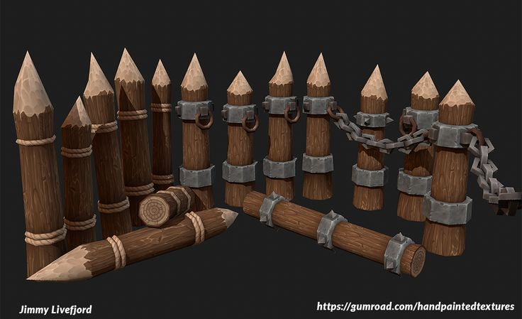 Sharp Wooden Spears by Jimpaw