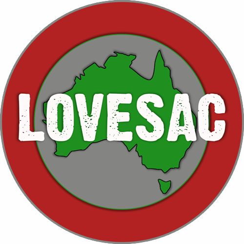 "Who we are! Lovesac Australia.  ""It's Not A Damn Bean Bag!"""