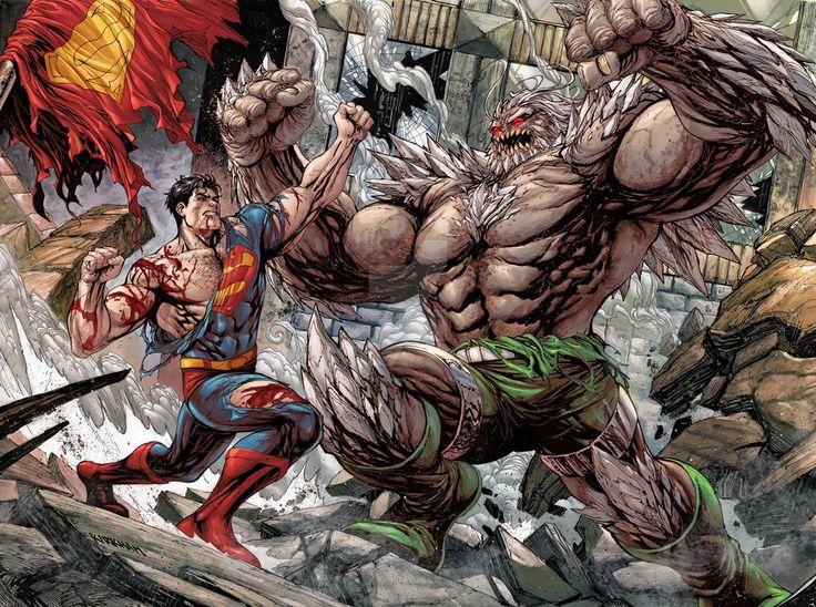 Superman vs Doomsday, Death of Superman by TylerKirkham on DeviantArt