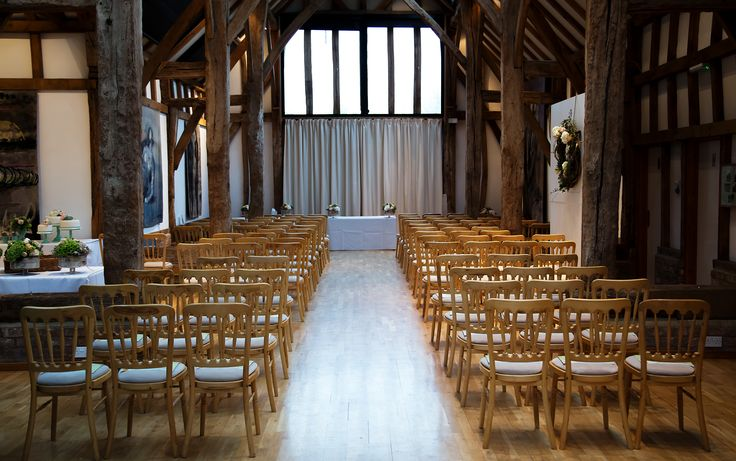 The Tapestry Barn - our wedding venue at Henry Moore