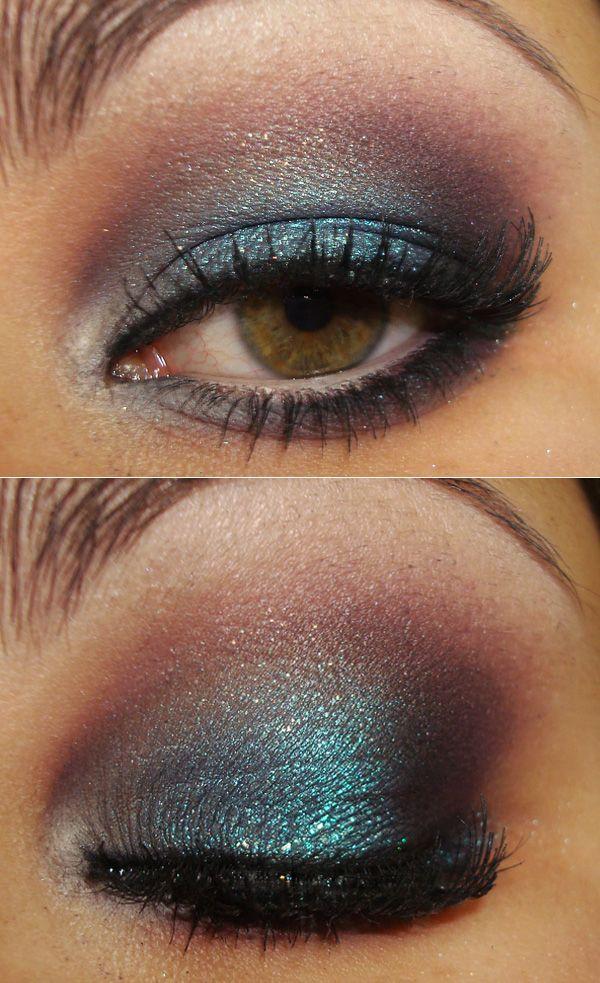 Make com azul, roxo e bege - http://www.pausaparafeminices.com/maquiagem/passo-a-passo-sombra-feitico-da-sereia-pausa-para-feminices-tracta/#