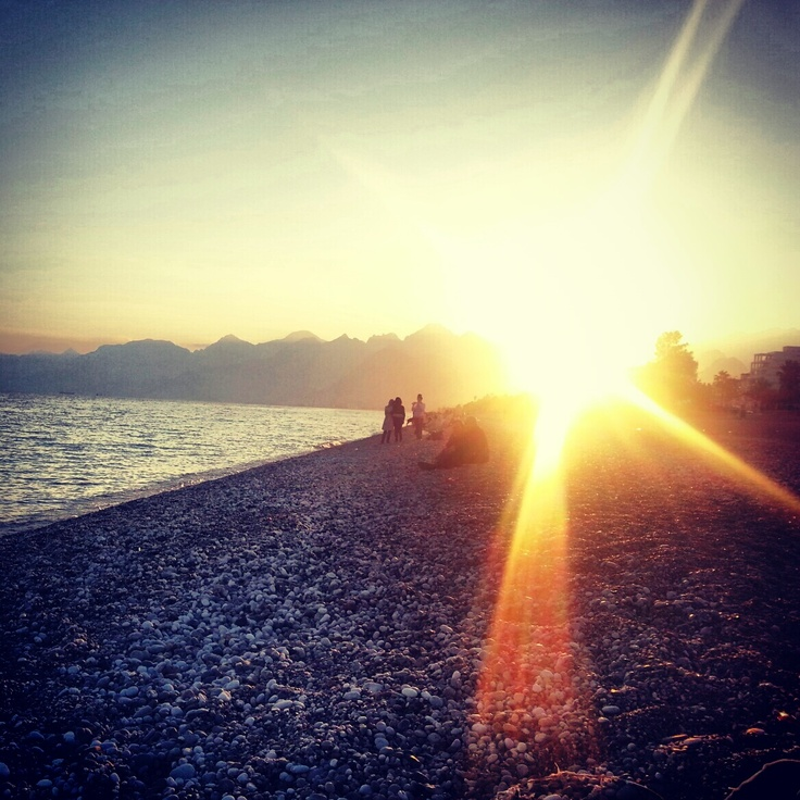 the Beach in Antalya/Turkey dec. 2012