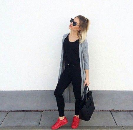 look tênis vermelho supercolor adidas