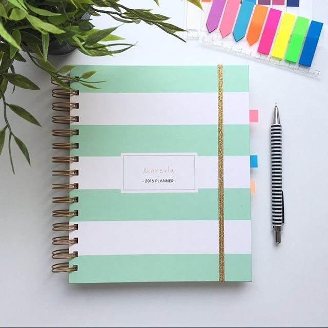 Perfect gift in Mint!  personalized 2016/17 planners in pastel colors  Add your name or even a logo!  you can order it on my Etsy. Info in my bio  shipping worldwide! #lady2 #design #stationery #madetoplan #planner #planning #planneraddict #plannerlove #elegant #style #calendar #gift #art #artist #polishgirl #poland #warsaw #polishboy #custom #journal #model #fashionblogger #instagood #instadaily #photooftheday #2016planner