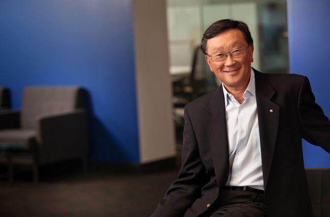 John S Chen: Blackberry está bien posicionada para el futuro