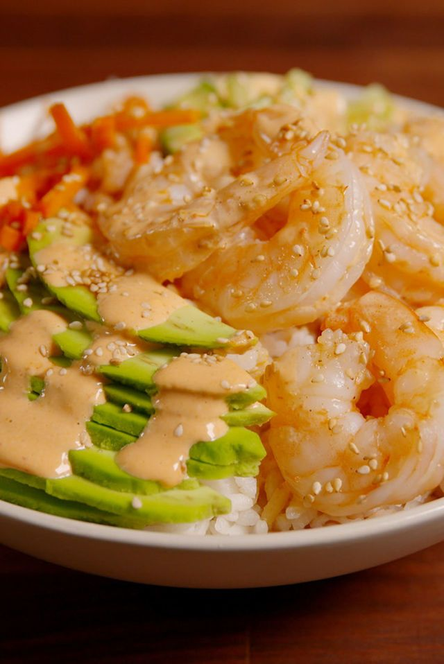 Sushi Bowls Are The Easiest Way To Get Your Sushi Fix  - Delish.com