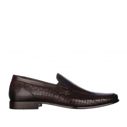 Pantofi Mario Ferretti maro, din piele naturala