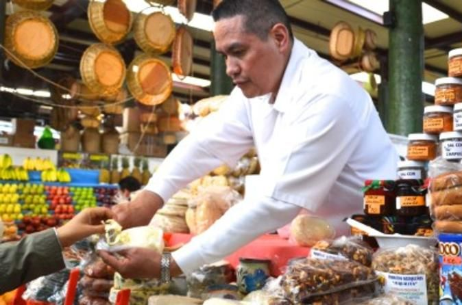 Book your adventure - Dive into the wonders of Mexico City's street fare on this 3-hour walking tour led by a local guide. Soak up rich culinary history and traditions as you explore the markets of Centro Histórico: sample unique regional delights at San Juan Mercado de Especialidades, and admire exquisite handmade goods at Mercado de Artesanías La Ciudadela. Meet exceptional people who make this city center bustle