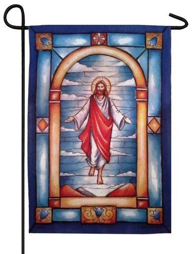 Resurrection of Jesus Garden Flag