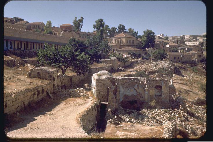 Jerusalem, July 1950. Katcoff collection. משכנות שאננים - ימין משה אוסף קטקוף