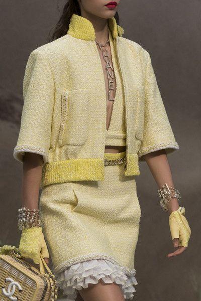 Chanel Clp Bis at Paris Fashion Week Spring 2019 - Details Runway Photos
