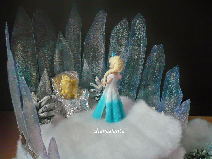 Chantalanta : Зимние поделки: как сделать замок Снежной Королевы...