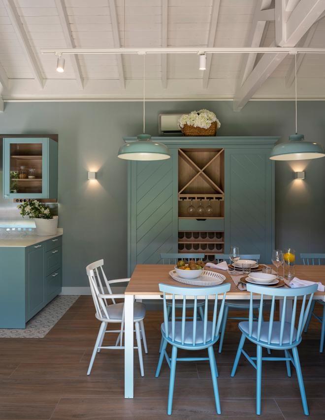 Diseno Interior De Txoko Con Cocina Y Comedor Diseno De