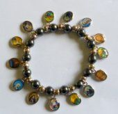 Hematite all Saints Bracelet.