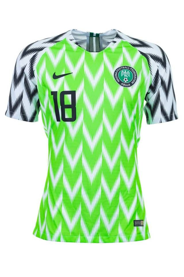 Gq Ranks Super Eagles Jersey As Best World Cup 2018 Kit Full List Photos Information Nigeria Eagles Jersey Jersey Jersey Design