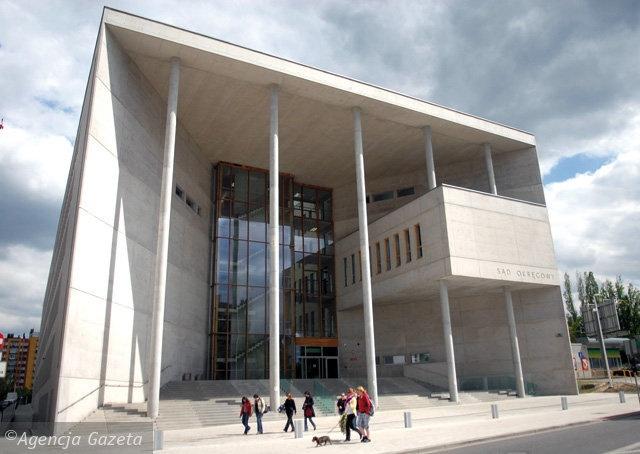 Nowoczesny budynek Sądu Okręgowego, #Katowice, Poland #architecture
