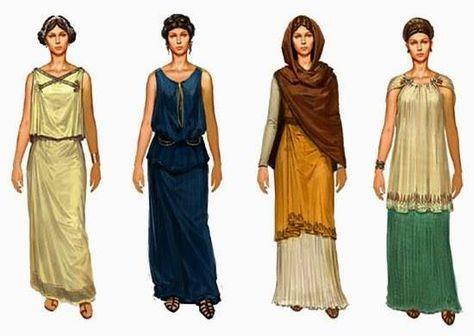 Tipi di abiti romani