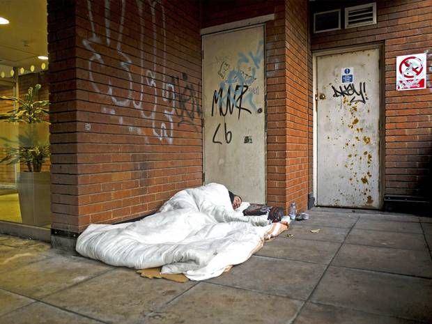 Down and out in austerity Britain: Number of rough sleepers soars by 37 per cent - UK Politics - UK - The Independent
