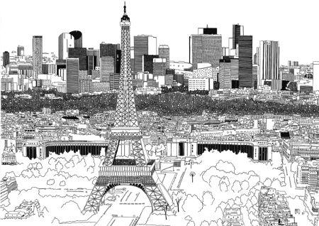 city illustration by Chris Dent