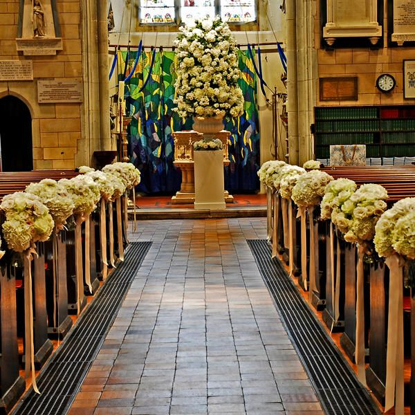 Church Wedding Aisle Decoration Ideas: 28 Best Images About Decor For Church Ceremony On Pinterest