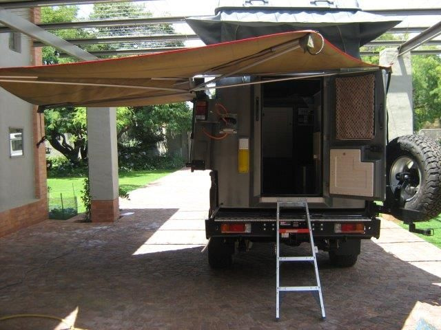 Abba Camper with 270 D awning