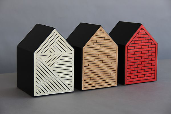 The Three Little Pigs (Architecture 101) by Kevin Irvin: Wood Wall Art available at www.artfulhome.com