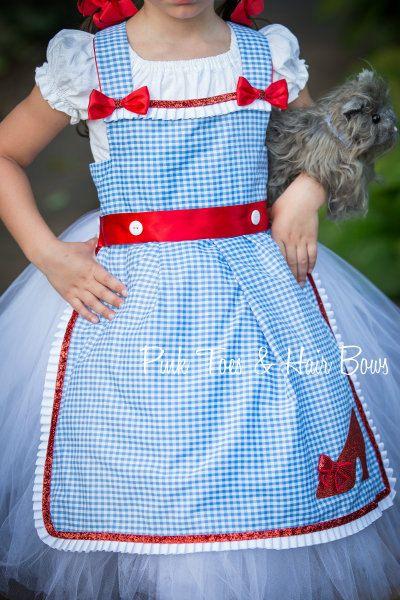 Dorothy Tutu vestido-mago de traje de vestido de por GlitterMeBaby