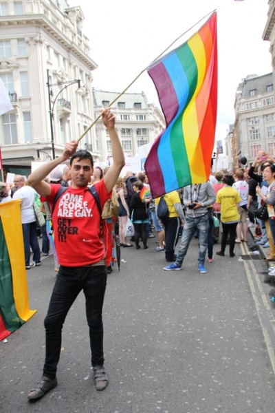 London Gay Pride- 2012- from Pink News.