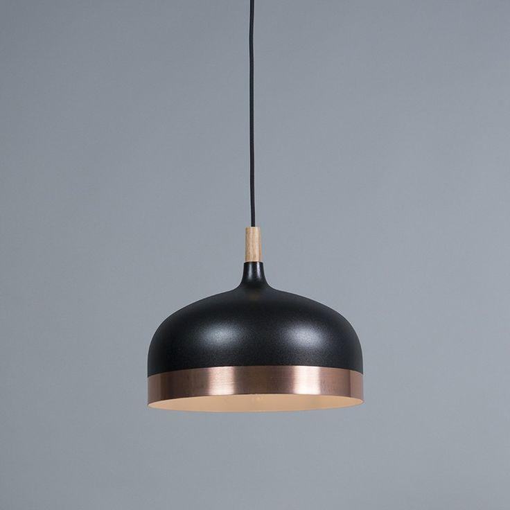 Pendant Lamp Emperor Black with Copper
